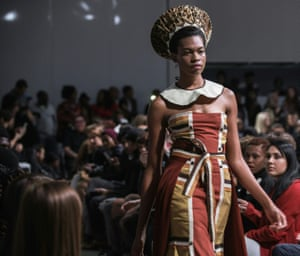 South African designer Sun Goddess show at the South African fashion week