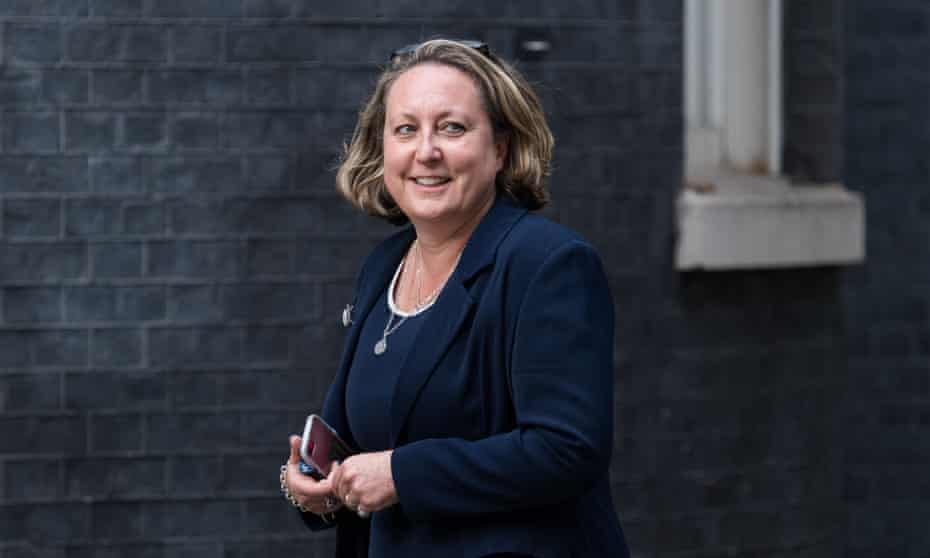 Anne-Marie Trevelyan arrives at Downing Street