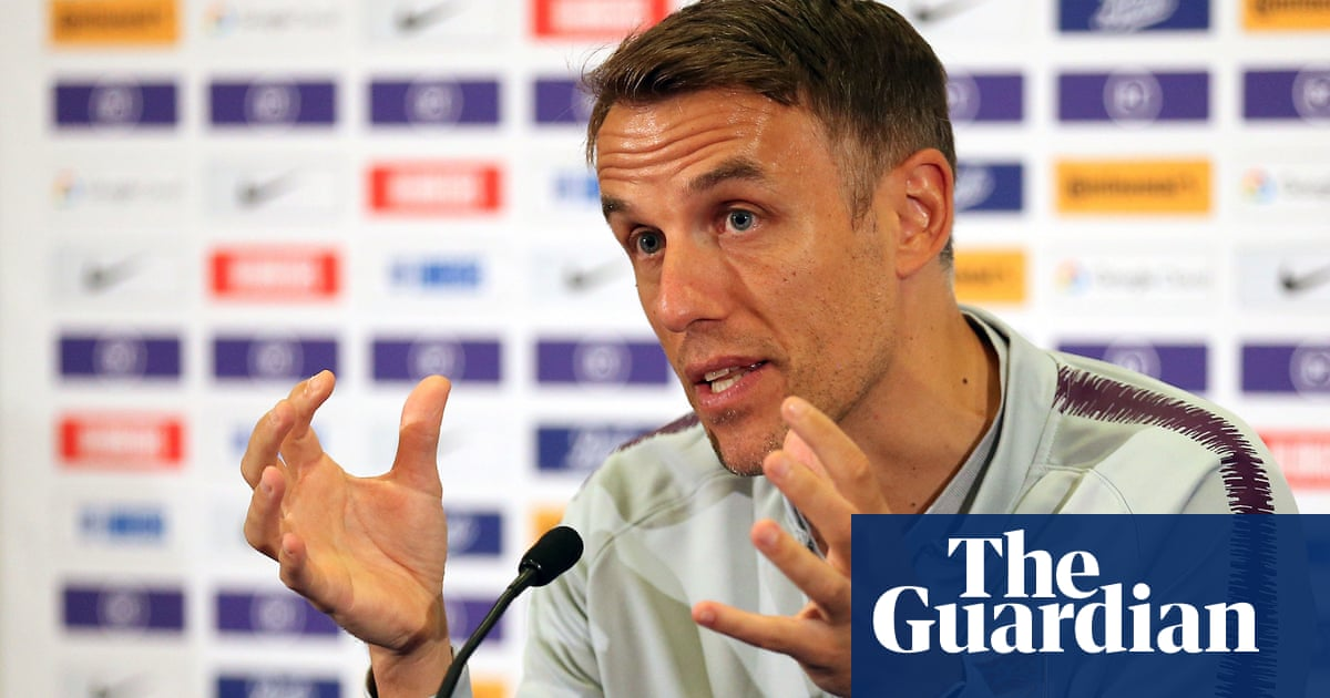 Phil Neville calls for social media boycott to combat racist abuse