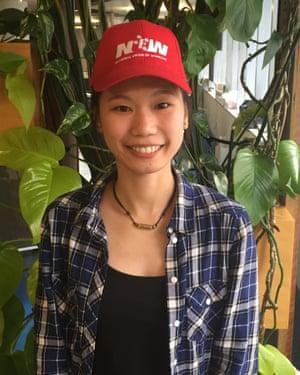 Kaylha Ho, an Australian union organiser based in Melbourne.
