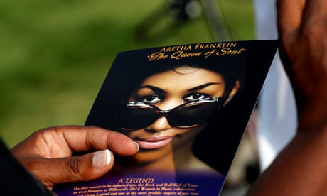 The funeral of Aretha Franklin – in pictures