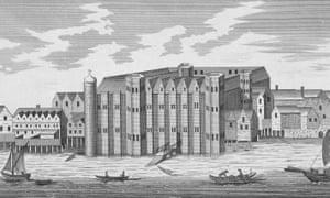 View of Baynard's Castle
