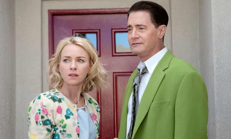 Naomi Watts and Kyle MacLachlan in Twin Peaks: The Return.