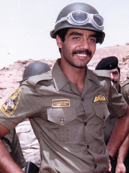 Uday Hussein during the invasion of Kuwait.