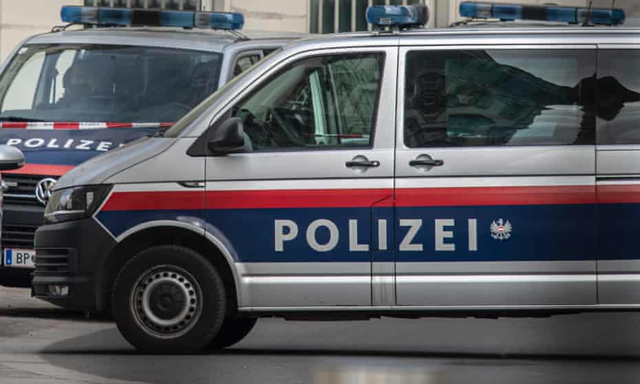 Austrian police cars