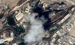 The Scientific Studies and Research Centre compound north of Damascus, before US, French and British missiles destroyed sites suspected of hosting chemical weapons development.