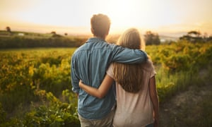 Blossoming romance ... mentions of climate change on dating profiles have increased 240% over the past two years.