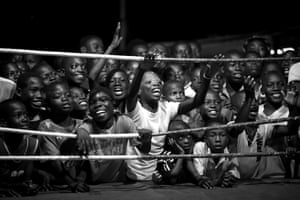 Ghana produced a couple of world champions in boxing - the most famous one being Azumah Nelson. In Ghana is all world champions are from Bukom, a small poor neighborhood of Accra. Most people work as fishermen. Hundreds of years ago, the Ga-People, an ethnic group who lives mainly in Accra, developed their own way of fighting. Due to the British influence during colonization, the Ga came in touch with boxing. Since then boxing is the most famous sport in Bukom