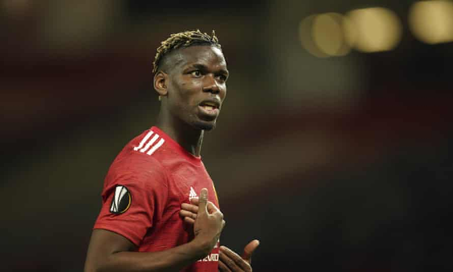 Manchester United's Paul Pogba: settling scores while the going is good.