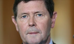 Kevin Andrews has his 654th press conference since Monday night.