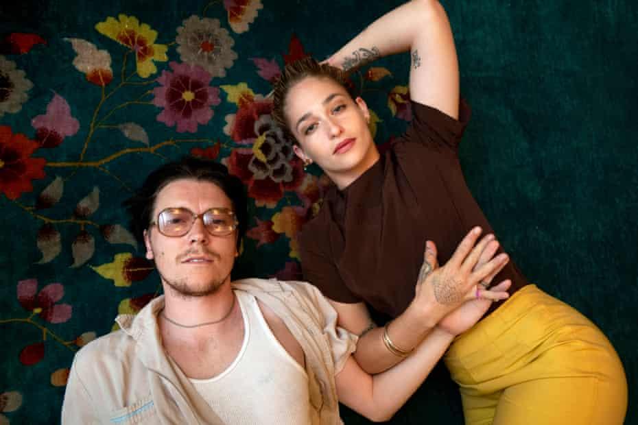 Alex Cameron and Jemima Kirke