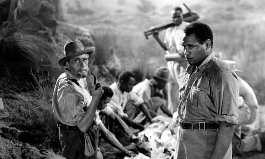 A still from the 1937 film King Solomon's Mines. Rider Haggard's hero Allan Quatermain provided a blueprint for the modern exotic adventurer