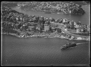 Cremorne Point, North Sydney, 1927-1932