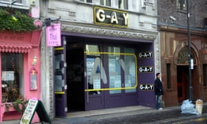 G-A-Y bar in London's Old Compton Street