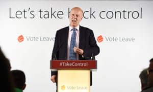 Chris Grayling speaking in favour of Brexit during the 2016 referendum campaign.