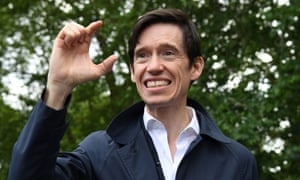 Rory Stewart addresses a crowd gathered at Speaker's corner in Hyde Park