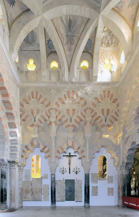 Masterpiece of geometry … the exquisite interior of Córdoba's mosque-cathedral.