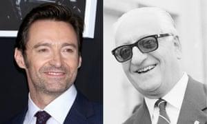 Hugh Jackman and Enzo Ferrari.