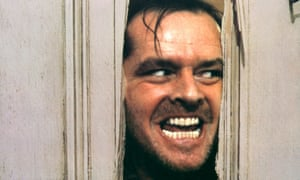On the spectrum of dark behaviours … Jack Nicholson in The Shining.