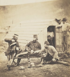 Hardship in the camp, 1856