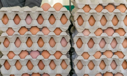 stack of eggs