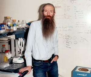 Aubrey de Grey in Mountain View, California, 12 April 2018