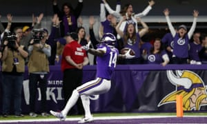 a7771074 NFC divisional playoff: New Orleans Saints 24-29 Minnesota Vikings ...