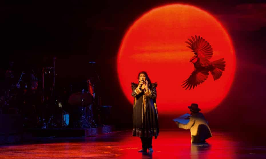Kate Bush's Before the Dawn at the Hammersmith Apollo, London, in 2014.
