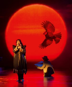 Not just playing the hits ... Kate Bush at Hammersmith Apollo in 2014.