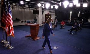 """""""I'm walking here!"""" House Speaker Nancy Pelosi."""