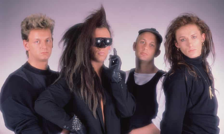 'One of the great queer pop anthems' ... Dead or Alive, from left Mike Percy, Pete Burns, Tim Lever and Steve Coy.