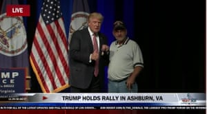 Donald Trump and a Purple Heart.