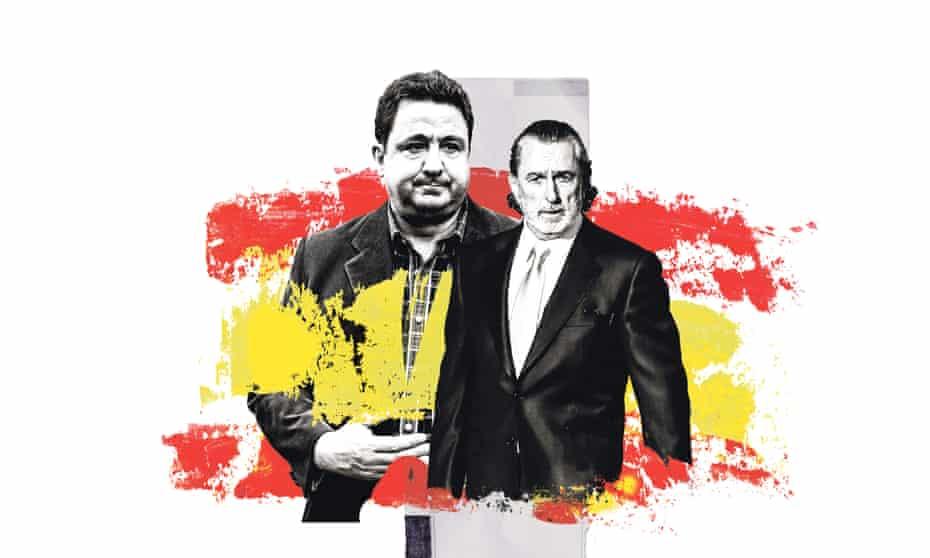 José Luis Peñas (left) and Francisco Correa