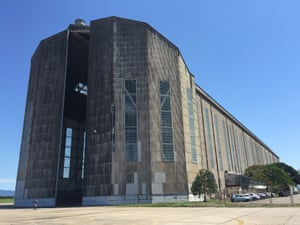 Zeppelin hangar in Santa Cruz, Brazil