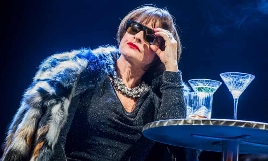 Patti Lupone as Joanne in Stephen Sondheim's Company in 2018.