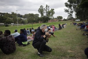 AP photographer Jerome Delay in Johannesburg during the lockdown