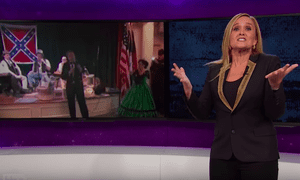 Samantha Bee: 'You can't guess someone's IQ based on where they came from, which is great news for Americans.'