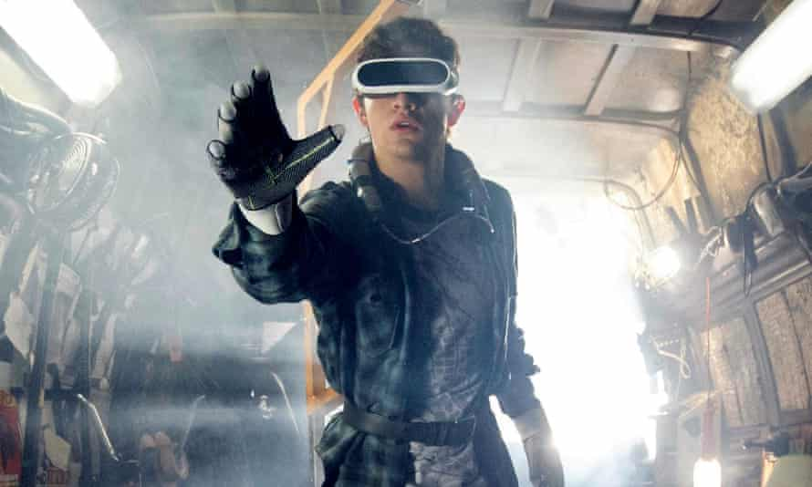 True and false … a still from Steven Spielberg's film of Ready Player One (2018).