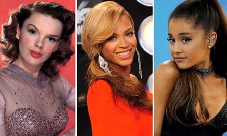 Noted stan objects from across the years: Judy Garland, Beyoncé and Ariana Grande.