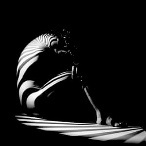 "SWITZERLAND. Zurich. ""Zebra woman"". 1942 © Werner Bischof/Magnum Photos"