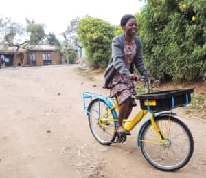First class: an Elephant bike is put to work in Malawi
