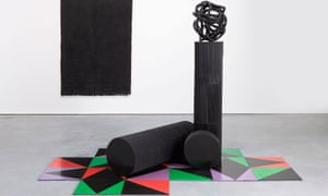 Eva Rothschild's What the Eye Wants, 2014.