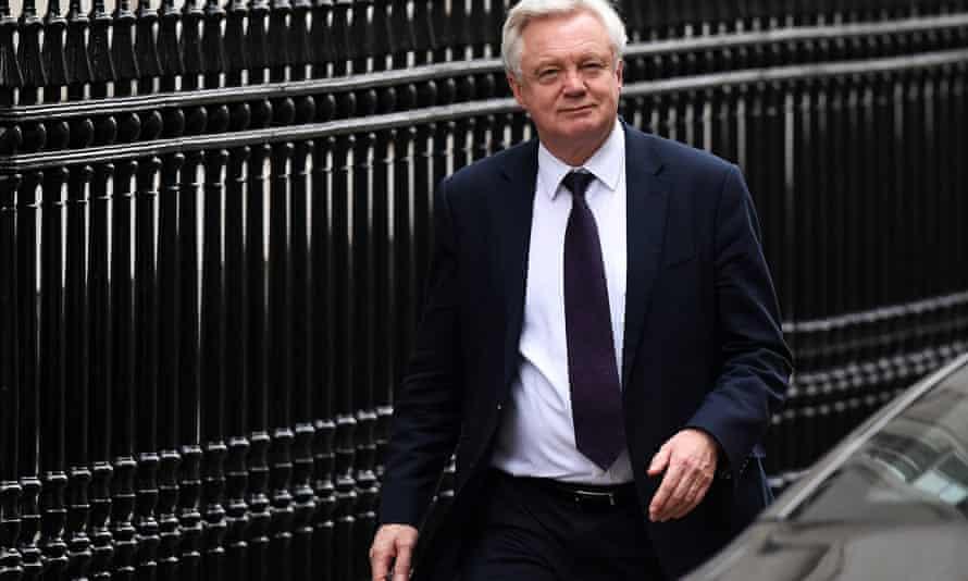 David Davis the Brexit secretary