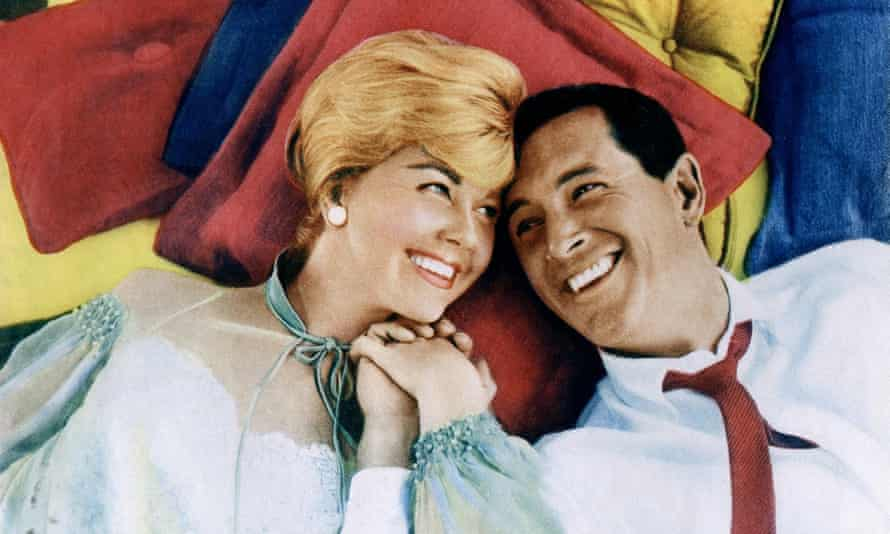 Doris Day with Rock Hudson in Pillow Talk (1959), for which she was nominated for a best actress Oscar.
