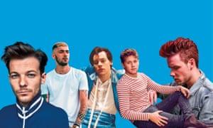 Louis Tomlinson, no direction; Zayn Malik, ex-directory; Harry Styles, direct debit; Niall Horan, direct line; Liam Payne, directional derivative