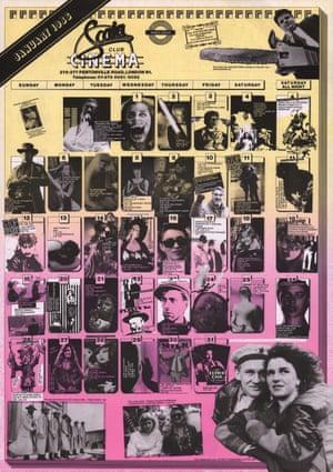Scala Programme January 1986
