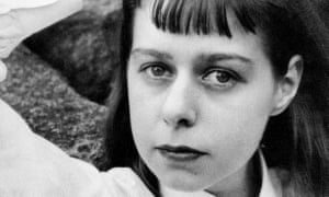 American author and playwright Carson McCullers, pictured around 1955.