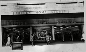 A branch of British Home Stores, as the retailer was known, in 1968.