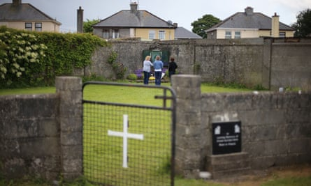The site of a mass grave for children who died in the Tuam mother and baby home, Galway.