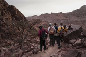 The Sinai Trail project